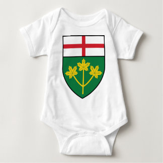 Ontario Shield Baby Bodysuit