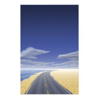 OnTheRoadAgain - Fine Day Personalized Stationery