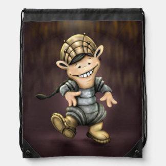 ONUO ALIEN CARTOON Drawstring Backpack