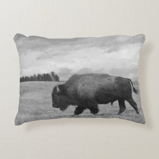 """Onward"" Buffalo Pillow"