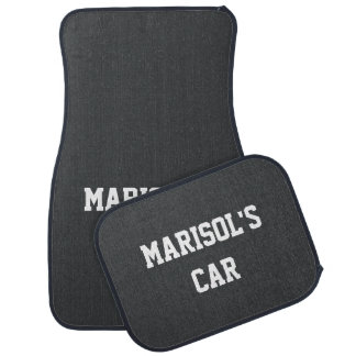 Onyx Exclusive Colorful Name Car Mat