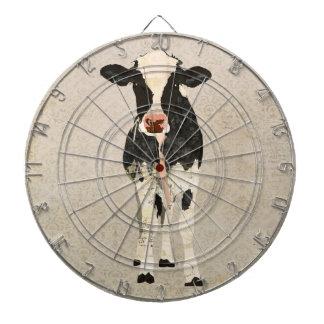 Onyx Ivory Cow Dartboard