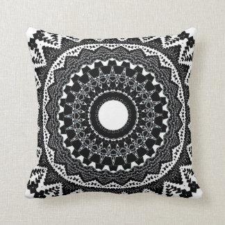 Onyx Mandala Cushion
