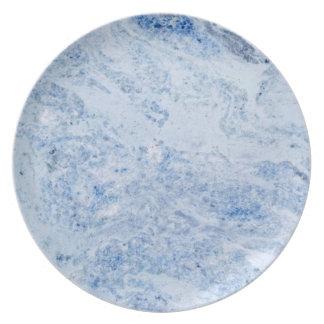 Onyx Stone Pattern Melamine Plate