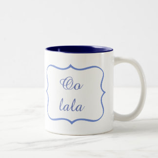 Oo lala Two-Tone coffee mug