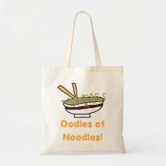Oodles of Noodles! Tote Budget Tote Bag