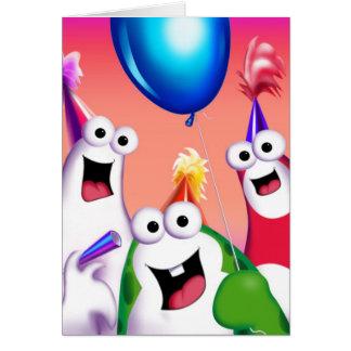 Oog and Gooomy™ feat. Fluff Birthday Card