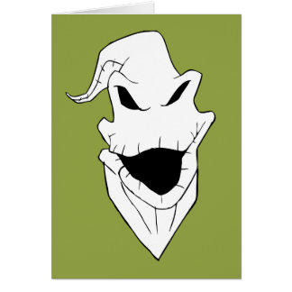 Oogie Boogie | Grinning Face Card