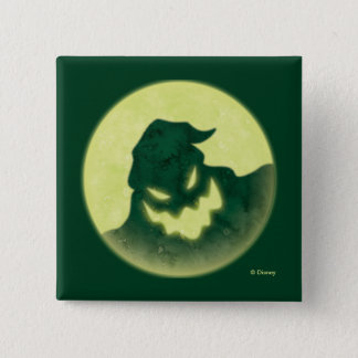 Oogie Boogie | I'm The Boogie Man 15 Cm Square Badge