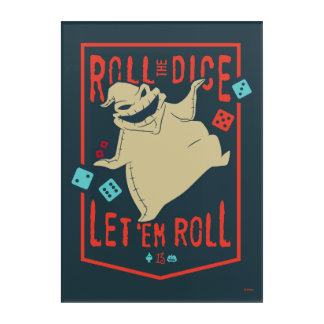 Oogie Boogie | Roll The Dice Acrylic Print