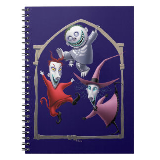 Oogie's Boys Framed Spiral Notebook