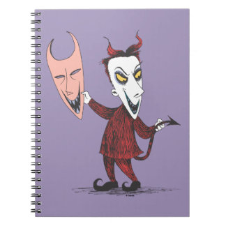 Oogie's Boys | Lock Holding Mask Notebook