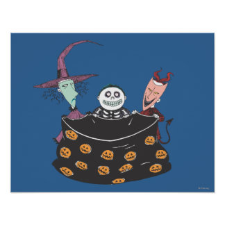 Oogie's Boys - Trick or Treat Poster