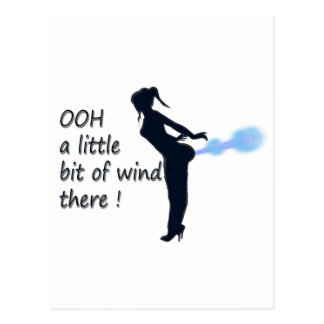 ooh a little bit of wind there postcard