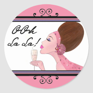 OOh La La! DIVAtude stickers