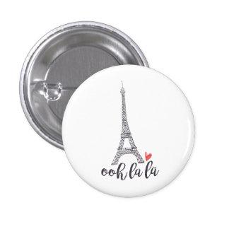 Ooh la la Paris Button