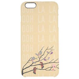 Ooh La La Shoes Branch Clear iPhone 6 Plus Case
