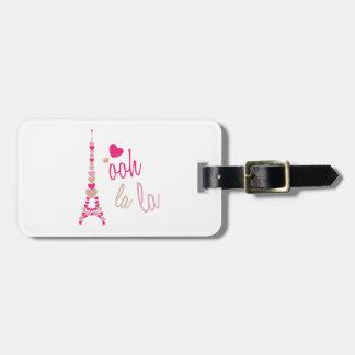 Ooh La La Travel Bag Tag