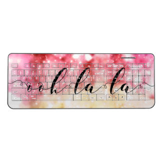 Ooh-La-La Wireless Keyboard