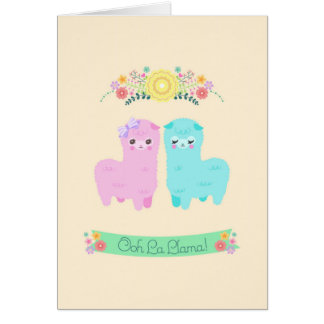 Ooh La Llama Cards