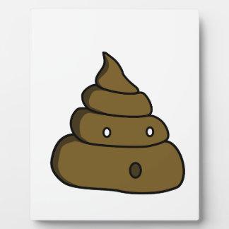 ooh poop plaque