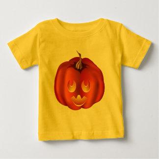 Ooh, So Scary! Vampire Jack-O-Lantern Halloween Baby T-Shirt