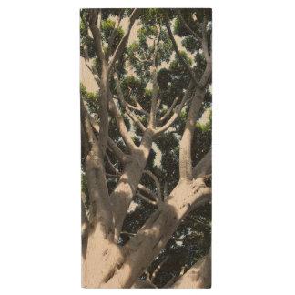 oOld Fig Tree Wood USB 2.0 Flash Drive