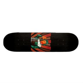 Oompa Kim Yong Li Loompa Street Art skateboard