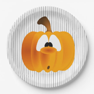 Oooh Spooky! Halloween Party Paper Plates