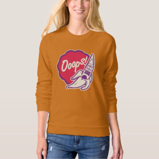 Ooops, it is high time kayaking! sweatshirt