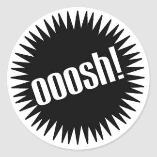 Ooosh Round Sticker