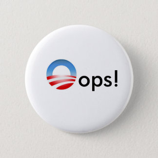 Oops! 6 Cm Round Badge
