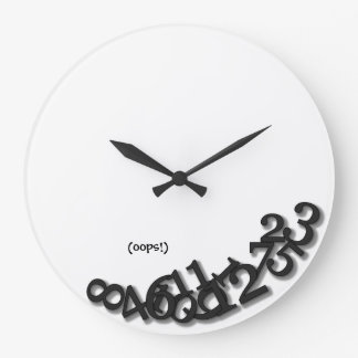 Oops! (After the Earthquake) Wallclocks