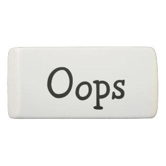 Oops Eraser