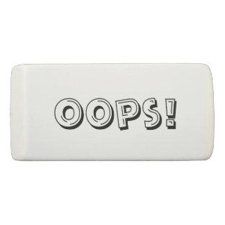 Oops! Eraser