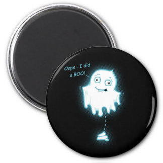 """""""Oops - I did a Boo"""" Halloween/Ghost Magnet"""