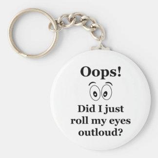 Oops! Key Ring