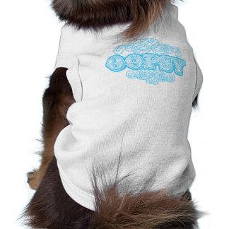 """OOPSY"" Brand Designer Flair Graphic Sleeveless Dog Shirt"