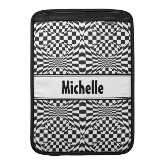 Op Art Background 1 MacBook Sleeve