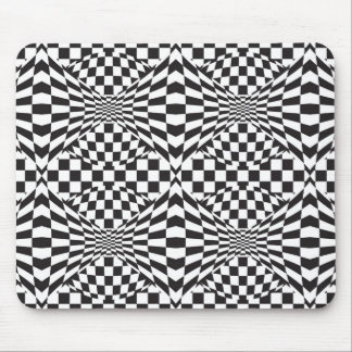Op Art Background 1 Mouse Pad