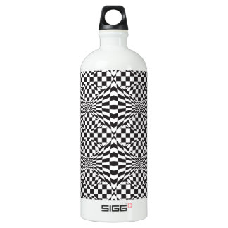 Op Art Background 1 Water Bottle