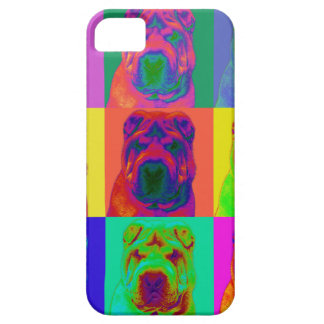 Op Art - Chinese Shar Pei iPhone 5 Cover