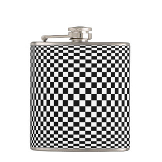 Op Art Flask