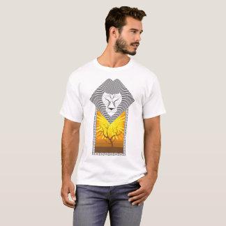 Op Art Lion - Version 3 T-Shirt