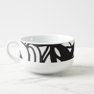 Op Art Series Soup Mug