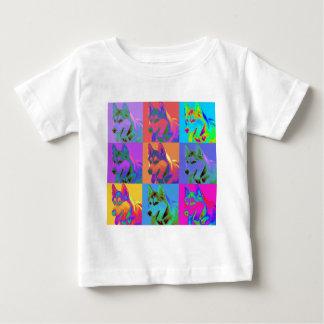 Op Art - Siberian Husky T Shirts