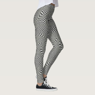 Op Art Twirl Leggings
