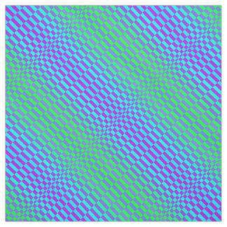 Op Rigel in Blue Green and Aqua Fabric