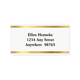 Opa! Address Label