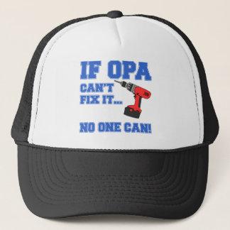 Opa Can Fix It Trucker Hat